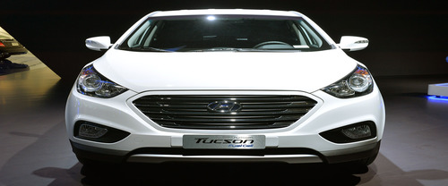 Full Front View of Tucson